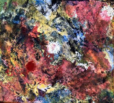 Acrylic + Oil on Canvas