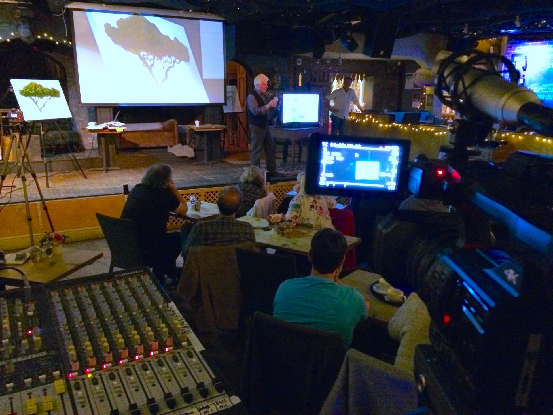 Roger Dean Live Painting Masterclass - @Trading Boundaries