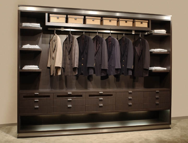 Wenge laminate wardrobe