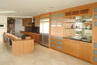 Contemporary Beechwood kitchen