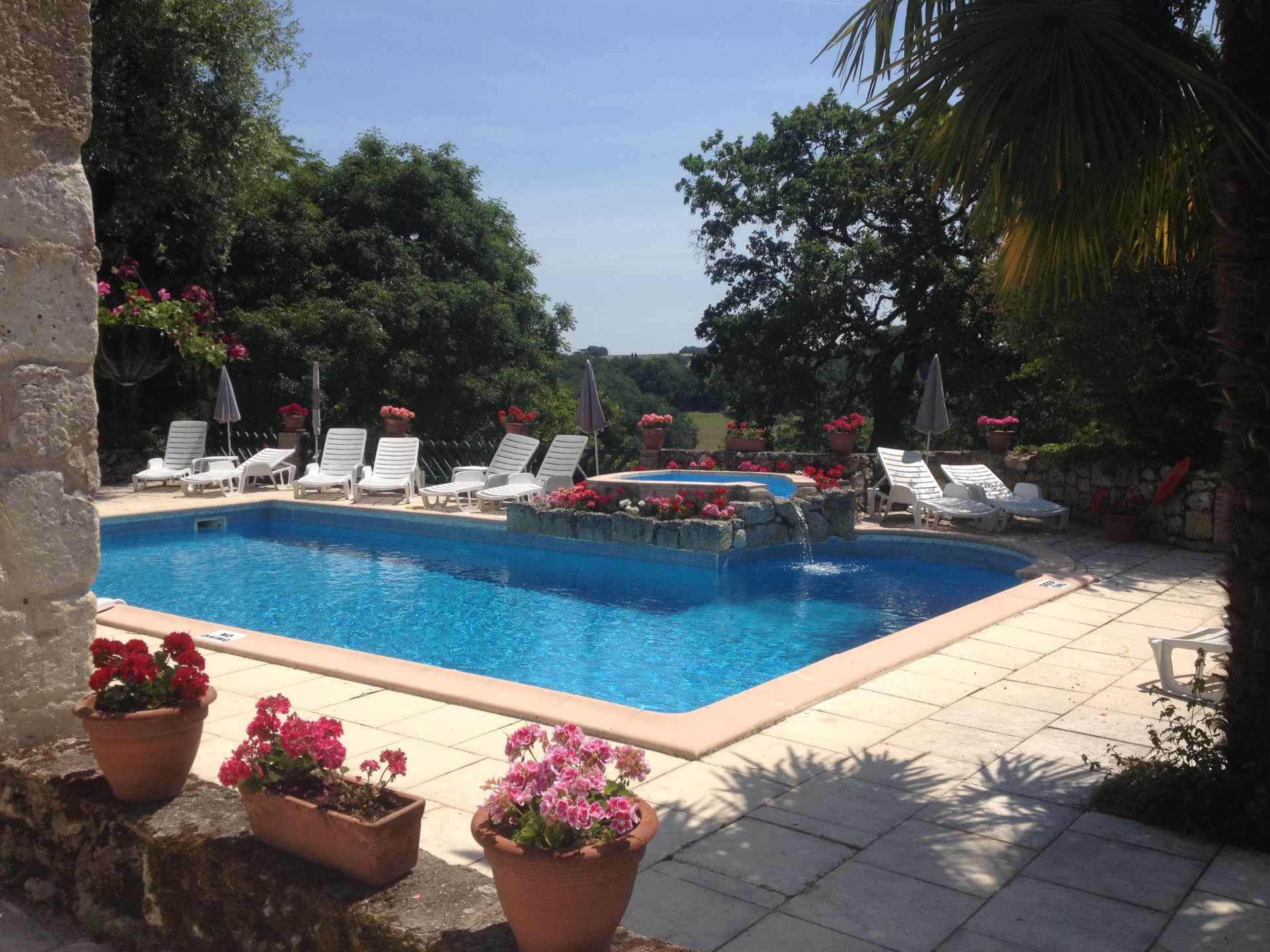 Faysselle Holiday Cottages Pool