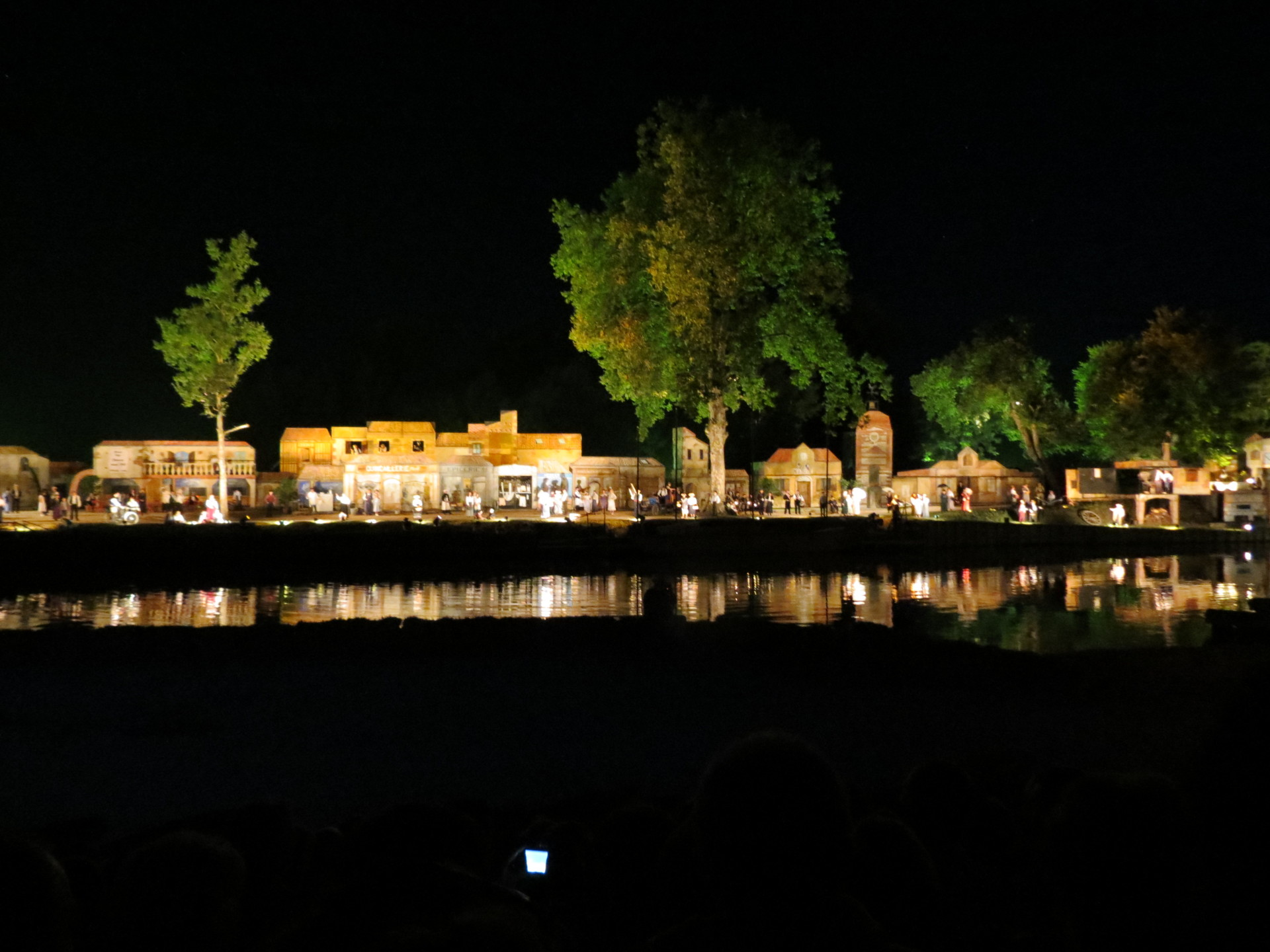 Son et Lumiere at Valence d'Agen