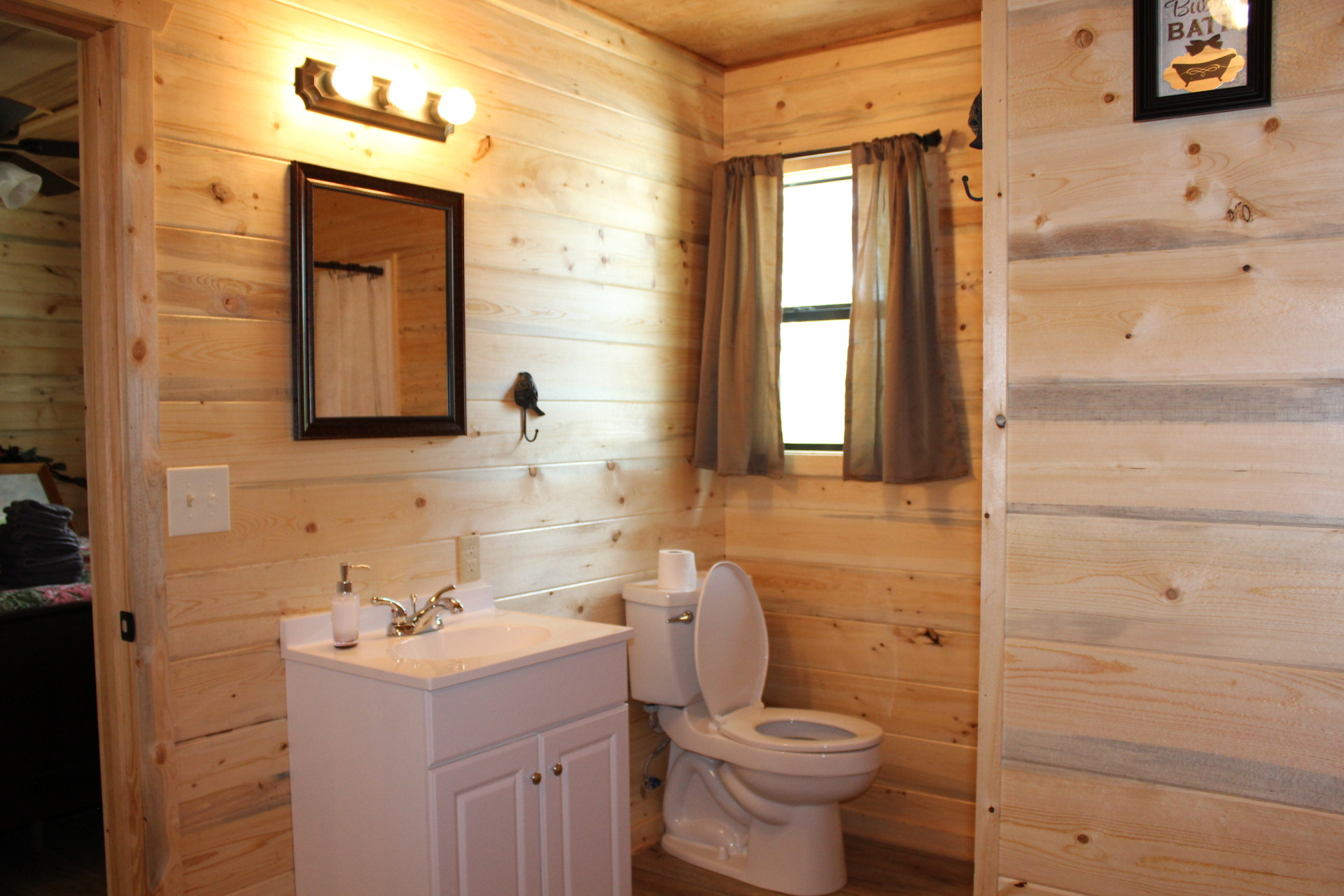 Jack and Jill bathroom