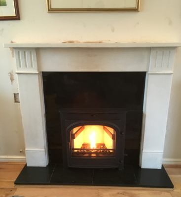 Hunter inset stove