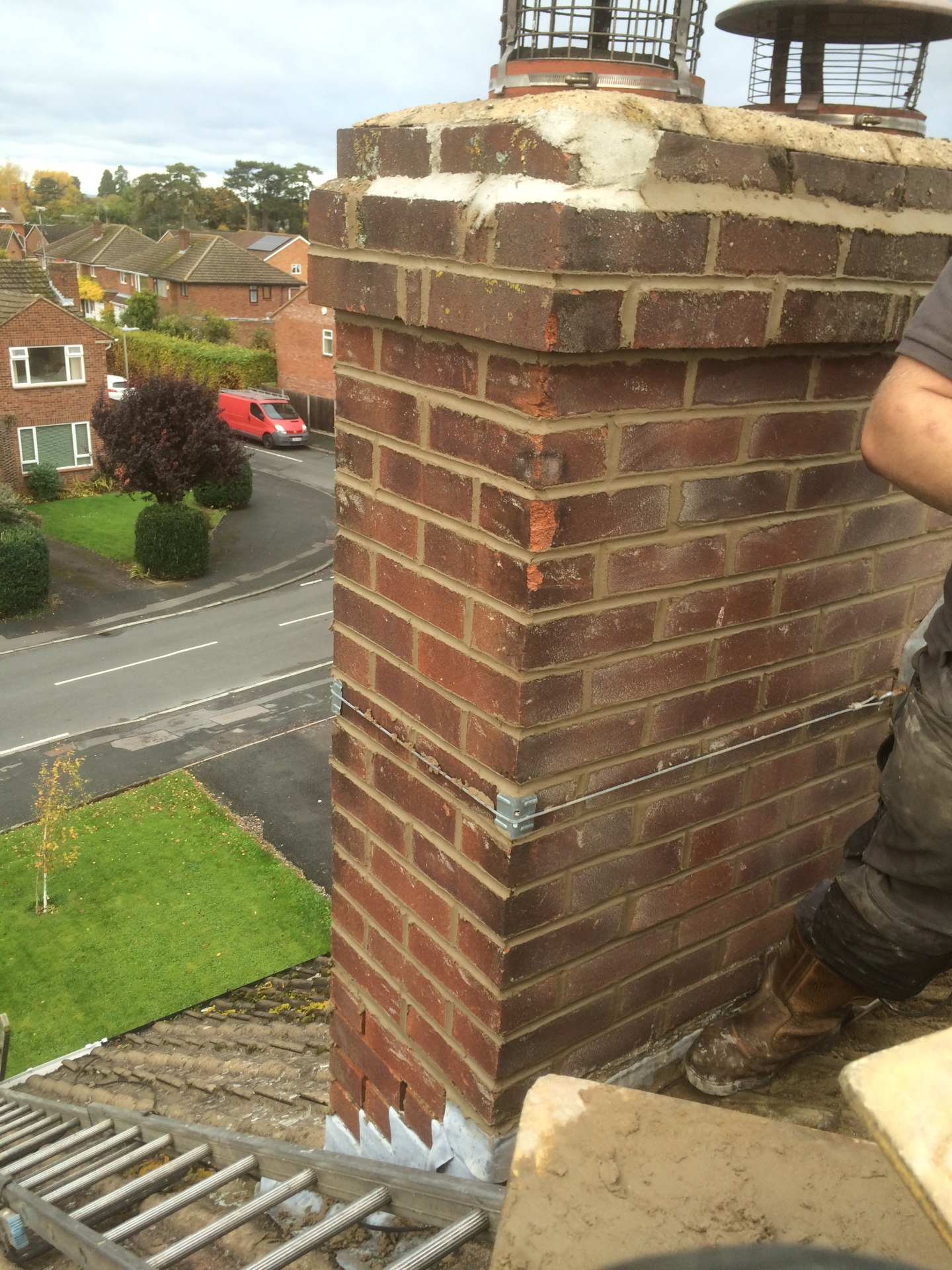 More repointing in progress