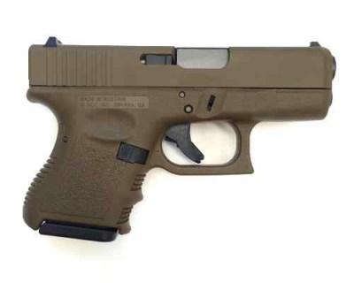 Glock 27 FDE
