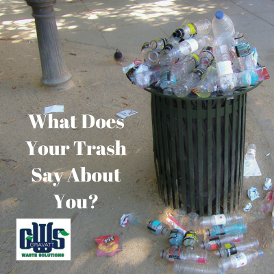 What Does Your Trash Say About You?