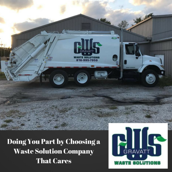 Doing Your Part by Choosing A Sanitation Company That Cares