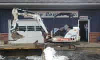 Bobcat 329 Mini Excav