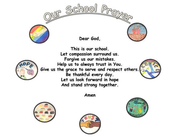 St Mary's Island Primary School Prayer