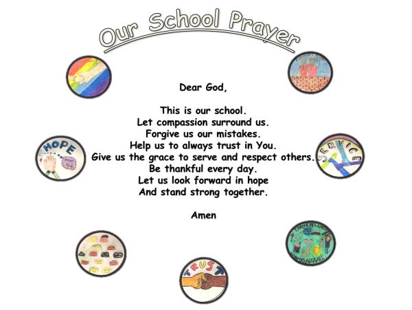 St Mary's Island Primary School Prayer