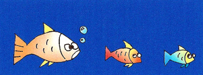 cartoon, fish