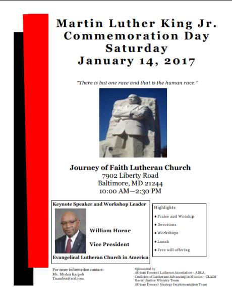 MLK Day Celebration: Baltimore, MD