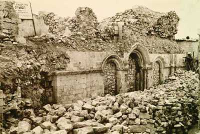 Synagogue ruins Tiferet, Israel