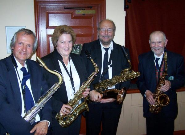 The Saxophone Section October 2018