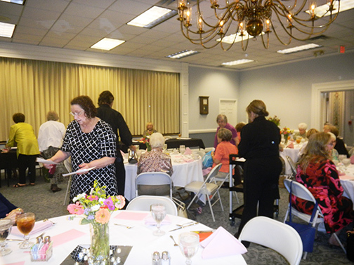 Woman's Club luncheon