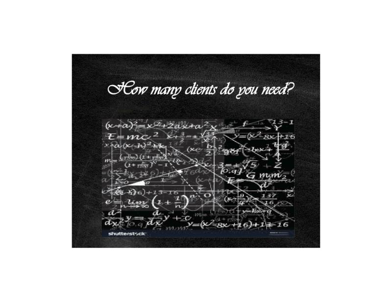 How Many Clients do you need blackboard