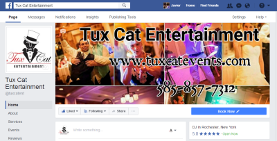 Tux Cat Entertainment on Facebook