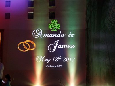 Amanda & Jimmy Wharam