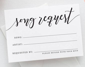 Most Requested Songs by Wedding Guests '18