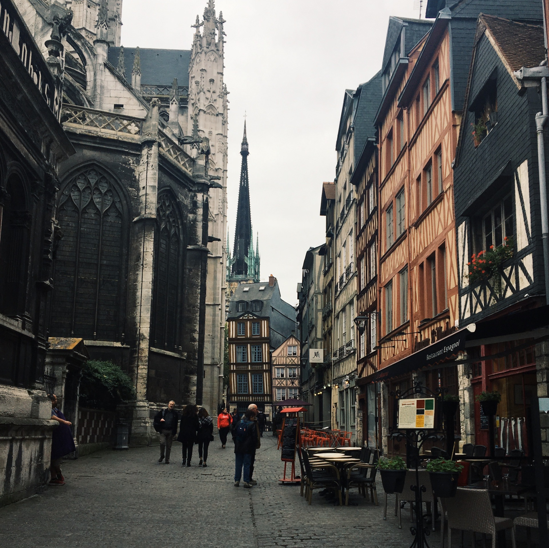 Little Towns // Rouen France