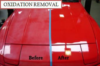 Oxidation Removal Exterior Detail