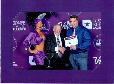 Meeting the iconic Oscar Goodman