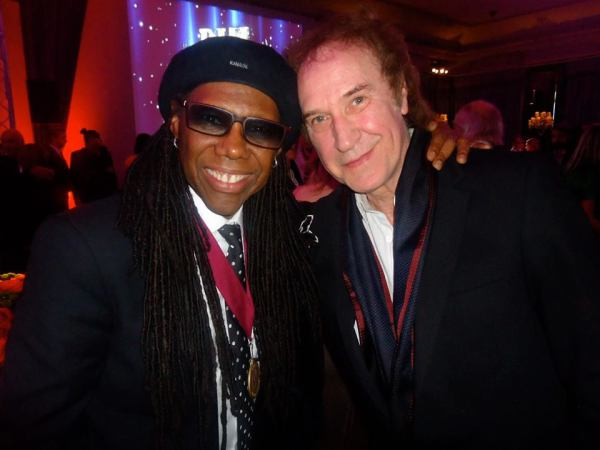 Nile Rogers and Ray Davies