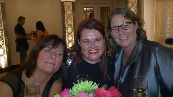 Karen Buse (PRS) Sharon Boyce (Sony ATV) and Alison Smith (BMI)