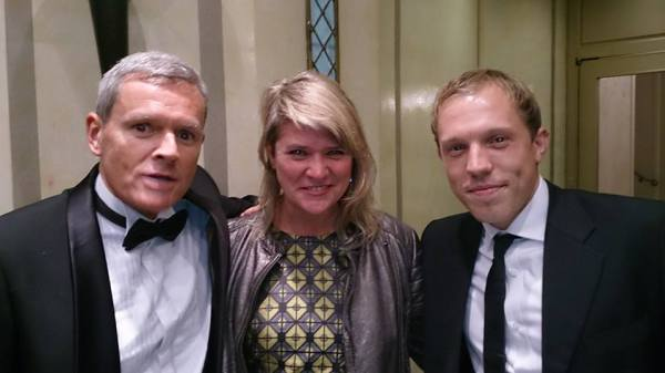 Peter McCamley (Sentric), Sarah Liversedge (BDI) and Jon Miller (BMI)