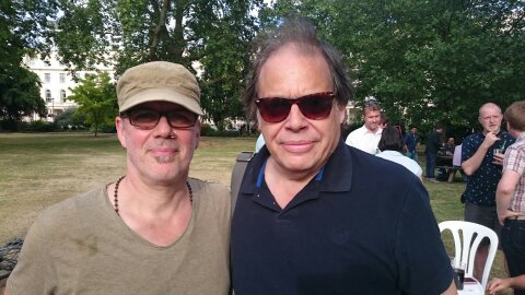 Andrew McKay (Abbey Road Studios) and David Stark (Songlink)