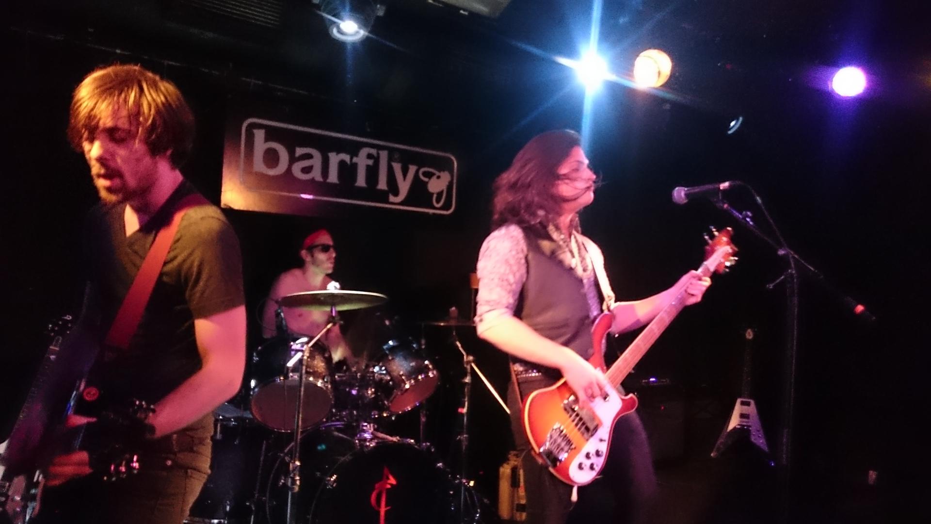 Barfly gig...