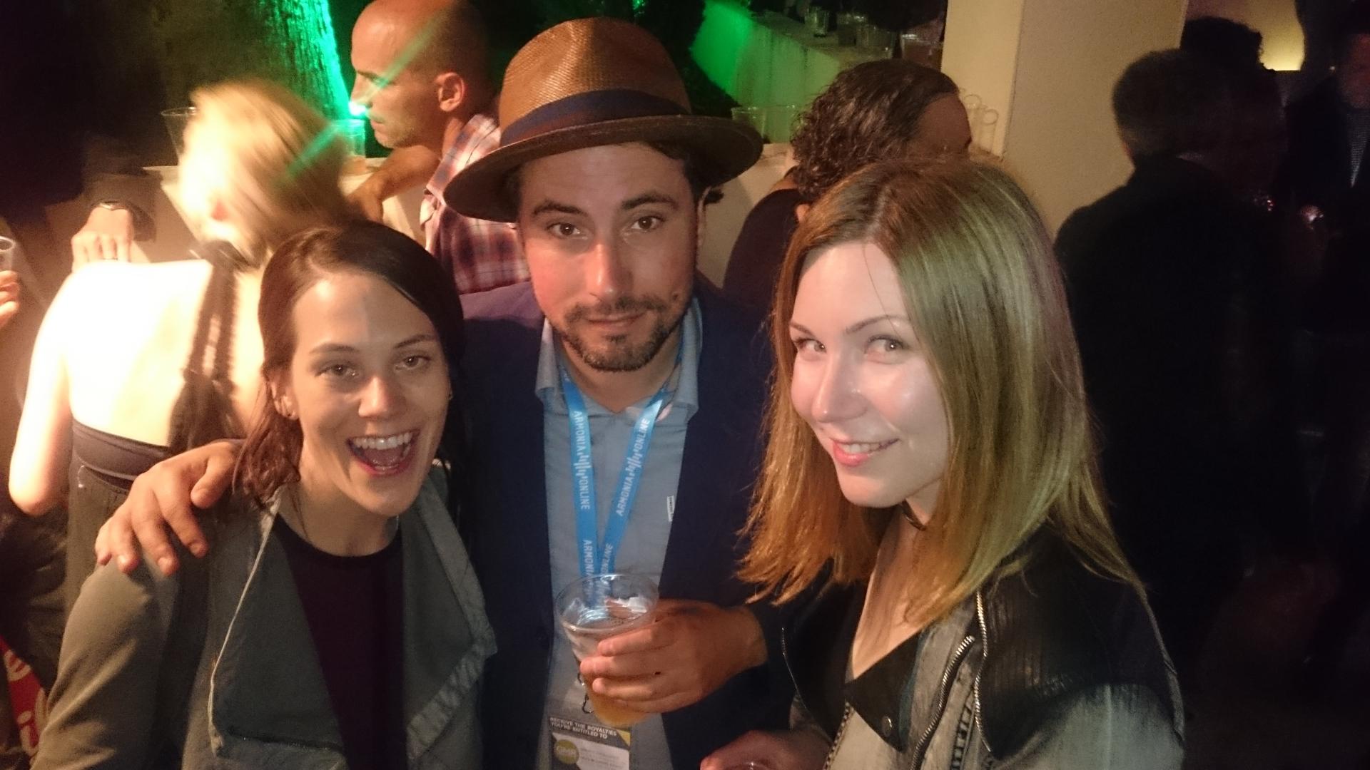Kristen, Marcel and Natacha - Midem 2016