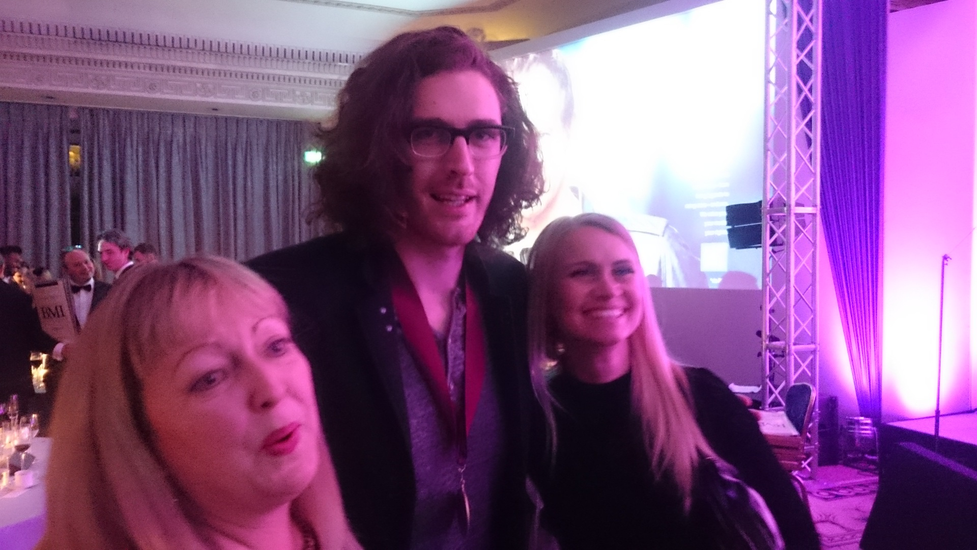 Sony girls and Hozier!
