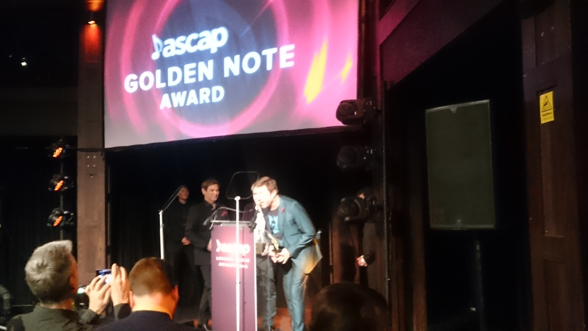 Simon Le Bon - ASCAP London Awards