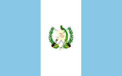 Bandera de Guatemala desde 1871