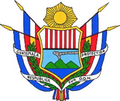 Escudo conservador de la República de Guatemala.  Imagen tomada de Wikimedia Commons.