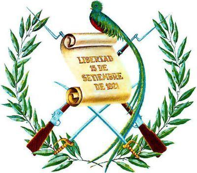 18 de noviembre de 1871: gobierno de facto de Miguel García Granados modifica escudo de la República