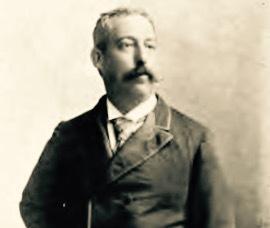 Retrato de don Antonio Batres Jáuregui, tomada de su obra: Memorias de antaño