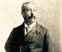 Antonio Batres Jáuregui; portrait printed in his book Memorias de Antaño [Public Domain], via Wikimedia Commons.