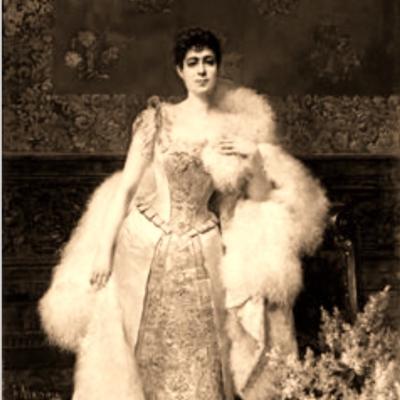 Doña Francisca Aparicio, en 1892.