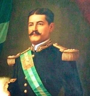General José María Reina Barrios. Retrato oficial del Museo Nacional de Historia de Guatemala