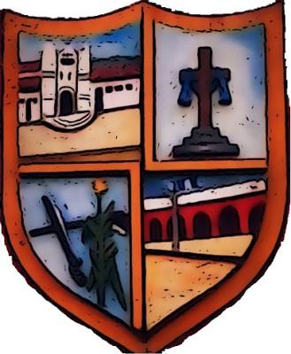 Escudo de Santa Cruz Verapaz; imagen tomada de Wikimedia Commons.