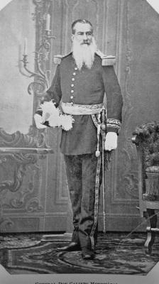 General Calixto Mendizábal en 1897.  Imagen de La Ilustración Guatemalteca.