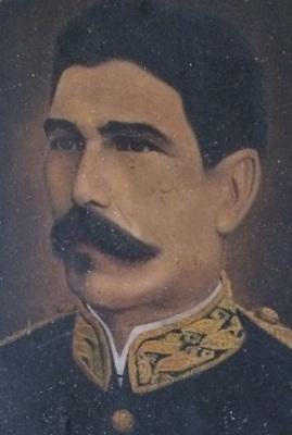 Retrato del presidente Barillas, que se encuentra en el Museo de Historia de Guatemala.