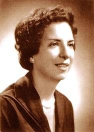 Elisa Molina de Stahl en la década de 1950.