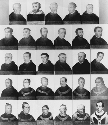 Obispos de Guatemala Composición de Juan José de Jesús Yas Wikimedia Commons.
