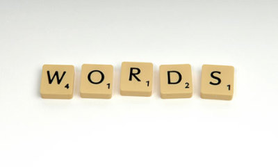 Words Are Sacred. Use Them Wisely.