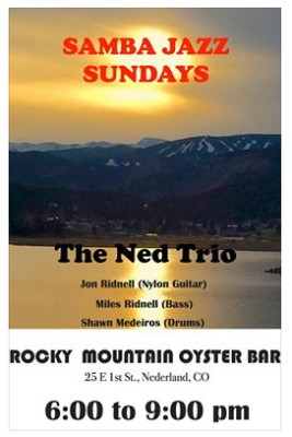 Latin Jazz by  The Ned Trio