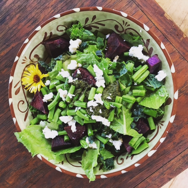 A Miraculously Delicious Salad Dressing!